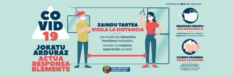 New Covid regulations in the Basque Country
